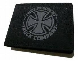 INDEPENDENT インディペンデント FTR BI-FOLD ウォレット カードケース 財布 ブラック 黒x灰