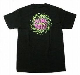 SANTACRUZ サンタクルーズ NBNG NO BALLS NO GLORY SLIME BALL スライムボール Tシャツ 黒 ブラック