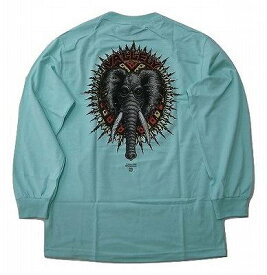 POWELL PERALTA パウエル MIKE VALLELY L/S バレリー エレファント ロングスリーブ ロンT CELADON エメラルド