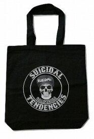 SUICIDAL TENDENCIES CLASSIC TOTO BAG スーサイダル CALIFORNIA SKULL カリフォルニアスカル トートバッグ 黒 ブラック
