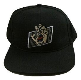 SANTA CRUZ サンタクルーズ SPEED WORK HAND SNAPBACK HAT ワークハンド スナップバック キャップ BLACK 黒 ブラック