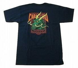 POWELL PERALTA パウエル CABALLERO STREET DRAGON 2 キャバレロ ストリートドラゴン 2 Tシャツ 紺x緑 ネイビーxグリーン