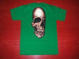 SANTACRUZ サンタクルーズ CREEP スカル Tシャツ 緑