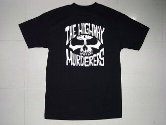 THE HIGHWAY MURDERERS highway mer dozen logo T-shirt black