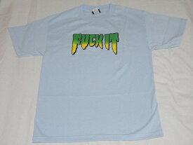 CREATURE クリーチャー FUCK IT Tシャツ 水 ライトブルー