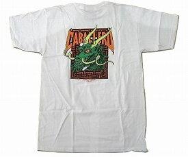POWELL PERALTA パウエル CABALLERO STREET DRAGON 2 キャバレロ ストリートドラゴン 2 Tシャツ 白x緑 ホワイトxグリーン