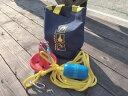 PVC マッシュルームアンカー 【 ロープセット / 3kg 】 アンカー 錨 ボート 水上バイク ジェットスキー ANCHOR コーティング コンパクト 丸型