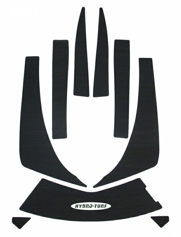 デッキマット 【 ULTRAシリーズ 】 ダイヤ ブラック単色 【3Mシール付】 HYDRO-TURF ハイドロターフ KAWASAKI カワサキ 310/300/260/250/LX