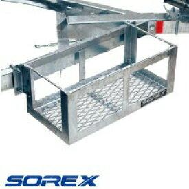 ソレックス SOREX マルチストレージ BOX サイドフレーム用 荷物入れ SRX-134-01 純正 【 送料別途品、 メーカー直送品】