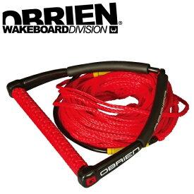 ウエイクボード ハンドル ラインセット POLY WAKE COMBO 70ft 4セクション 37415 ボート 水上スキー 初心者 ビギナー OBRIEN オブライアン