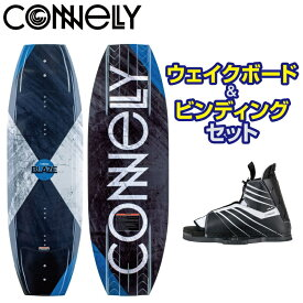 【ビンディングセット】 コネリー BLAZE&HALE ブレイズ&ヘイル 141cm ウエイクボード ビンディング 2点セット CONNELLY