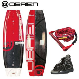 【3点セット】 オブライアン SYSTEM 135cm CLUTCH OBRIEN システム クラッチ ビンディング ウエイクボード 3点セット