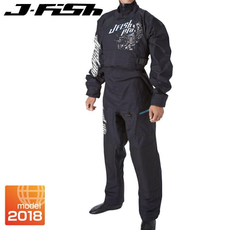 【SALE】ジェイフィッシュ 2018新作 プロドライスーツ ソックス 胸ファスナー 小用ファスナー フルドライ ジェットスキー 水上バイク  ウエイクボード