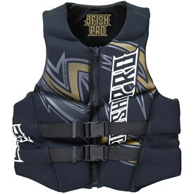 【SALE】JNV-382 ジェイフィッシュ ライフジャケット ネオプレン ウエット素材 JCI予備検査認定 ジェットスキー水上バイク 水上オートバイ