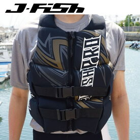 【37%OFF】JNV-382 ジェイフィッシュ ライフジャケット ネオプレン ウエット素材 JCI予備検査認定 ジェットスキー水上バイク 水上オートバイ