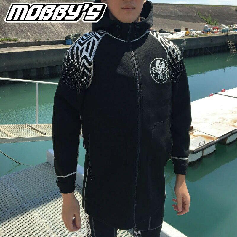【2019新作】モビーズ ネオジャケットJA-3950 マリンコート ジェットスキー ウエイクボード ロング 水上バイク ボート ヨット ウエットスーツ
