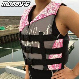 【2019新作】 JA-7410 モビーズ ライフジャケット ウイメンズ レディース 女性 コーストガード JCI検査OK ジェットスキー 水上バイク 女性