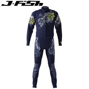 JWS-405 ジェイフィッシュ プロ PRO ウエットスーツ メンズ ジェットスキー ツーピース コスパ 水上オートバイ