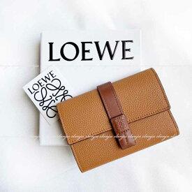ロエベ LOEWE スモール バーティカル ウォレット 三つ折り財布 124.12.S86