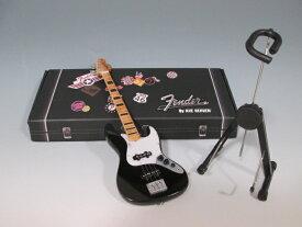 ■ミニチュア楽器 Axe Heaven フェンダー・ジャズベース ブラック FJ-003