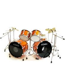 ミニチュア楽器 Axe Hea ドラムセット タマドラムキット(マグネティックオレンジ)
