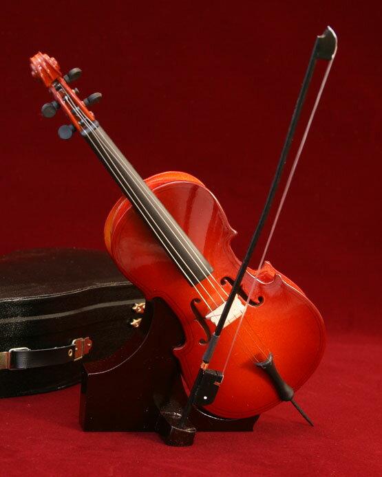 ■ミニチュア楽器 チェロ 23cm