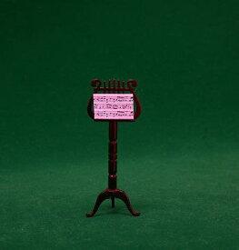■ミニチュア楽器 譜面台 8cm