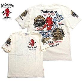 テッドマン tシャツ 2019 メンズ 半袖Tシャツ TDSS-496 トラベルシリーズ TEDMAN'S 奈良
