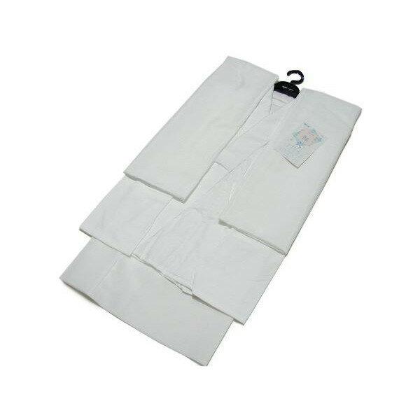 売れてます!日本製 夏用 洗える二部式長襦袢 絽 (白)S,M,L,LL 【日本製】半襦袢・裾除け・半衿付・衣紋ぬき付