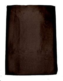 絹100%サテンシルク掛布団カバ−(シングル) 継ぎ目なし ブラック