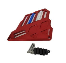 NMAX nmax NVX 155 [AEROX 155] CNC ラジエターコアガード 赤