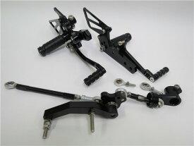 KTM 690 DUKE デューク 2012- 用 調整式 バックステップ CNC  黒