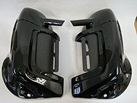 Harley ツーリング ロワーフェアリング グローブボックス黒 B