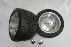 ジャイロキャノピー・UP・X用 ポン付け ホイールタイヤセット 235/30-10B