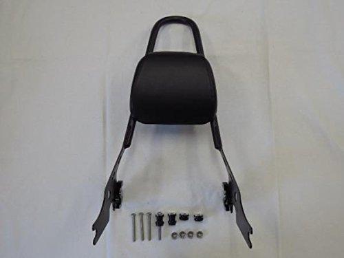 デタッチャブル バックレストXL1200R XL883 R/C ハーレー黒a22