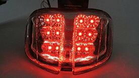 GSX-R600/750 k6 2006-2007 LEDテール ウインカー クリア
