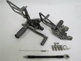CNC 調整式 gsx-r1000 00-04 gsx-r750 1996-2005 gsx-r600/sv650/s 2000-2005 K1 バックステップ 灰
