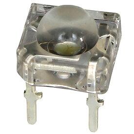 Kaito3204(100個) LED FLUX 5mm 黄色 2000〜2500mcd アノードコモン