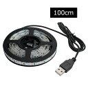 【単色】USB 防水LEDテープライト 1チップ(白ベース) 100cm DC5V ランキングお取り寄せ