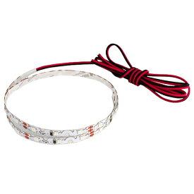 【1本】12V 曲がる 非防水 LEDテープライト 100cm(両端子ケーブル1.2m)白ベース