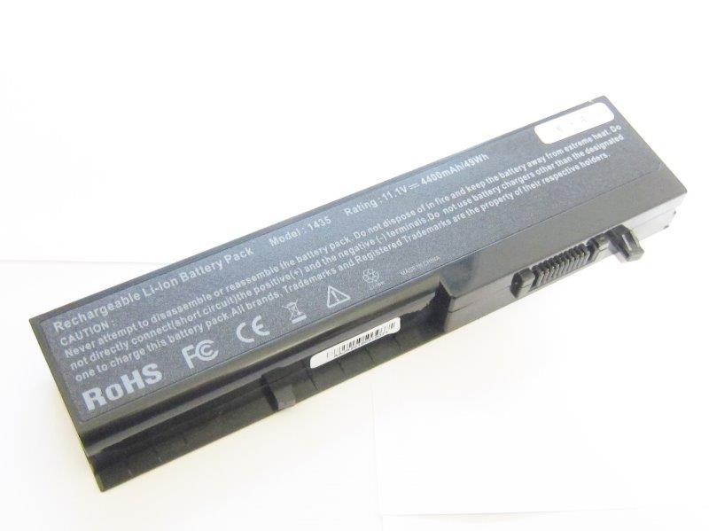 2012 DELL デル Dell Studio 14 1435 1435n 1436 互換バッテリー 充電池 4400mAh