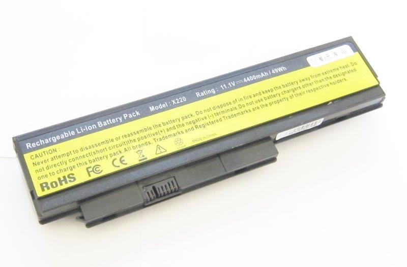 2013 IBM Lenovo X220 X220i X220s 互換バッテリー 充電池 4400mAh