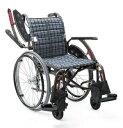 カワムラサイクル 車椅子 ウェイビットプラス WAVIT+ WAP22-40(42)S/A 次世代型標準車いす 自走兼介助用 多機能モデル
