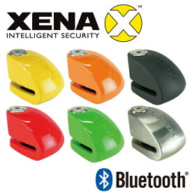 国内正規品 保証付 本物 XENA ゼナ スマホ対応 ディスクロック アラーム XX6 BLE Bluetooth バイク 盗難防止 防犯 盗難対策 イタズラ防止 オートバイセキュリティ ディスクアラーム