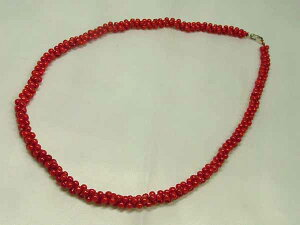 ■龍香堂■☆珍品!赤珊瑚ネックレス