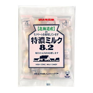 ●味覚糖 特濃ミルク8.2(105g)x6入【1ボール】t10#680-1N