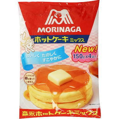 ●森永 ホットケーキミックス お徳用600g袋(150gx4P)■c12 #620
