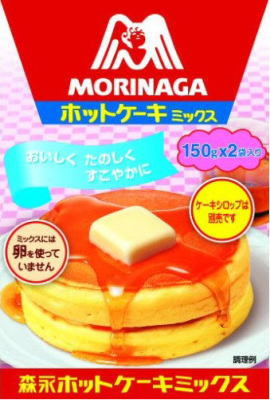 ●森永 ホットケーキミックス 300g(150gx2P)x6入【セット販売】