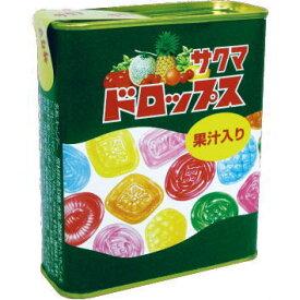 ●サクマ 缶ドロップス 80gx10入【1ボール】