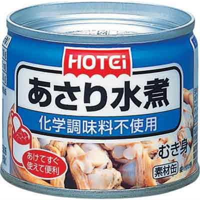 ●ホテイ あさり水煮 G8 125gx6缶【セット販売】c2t3#1050